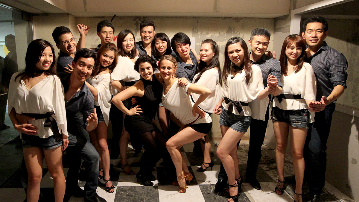 Bailalo Students Performing Bachata in Tanguisimo Taipei